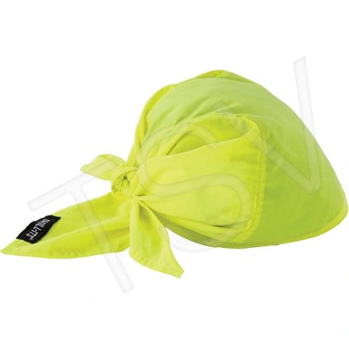 SEC685 Chill-Its® 6710CT Cooling Triangle Hat High Visibility Lime-Yellow ERGODYNE #12586