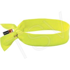 SEI655 Chill-Its® 6700FR FR Cooling Bandana MODACRYLIC LIME Tie Closure Meets ASTM F2302 Flame Resistance