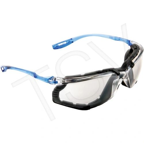 SEH158 Safety Glasses 3M Virtua CCS with Foam Gasket Anti-Fog INDOOR/OUTDOOR MIRROR LENS 11874-00000-20