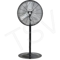 "EA643 Oscillating INDUSTRIAL Pedestal Fans Pedestal Dia 24"" Speeds:2 MATRIX 1/4HP"
