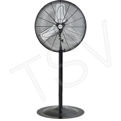 """EA643 Oscillating INDUSTRIAL Pedestal Fans Pedestal Dia 24"""" Speeds:2 MATRIX 1/4HP"""