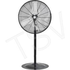 "EA647 Oscillating INDUSTRIAL Pedestal Fans Pedestal Dia 30"" Speeds:2 MATRIX 1/3HP"