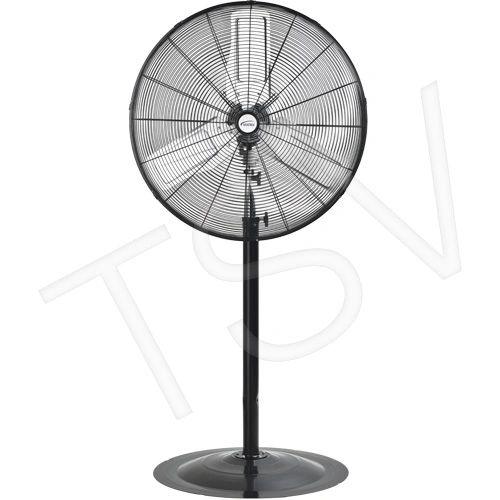 """EA647 Oscillating INDUSTRIAL Pedestal Fans Pedestal Dia 30"""" Speeds:2 MATRIX 1/3HP"""