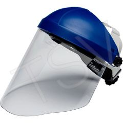 """SDA135 3M H8A Headgear WP96 Faceshield Height: 9"""" Width: 14-1/2"""" Thickness: 0.08"""" Material: Polycarbonate 3M #82783-00000 (Faceshield Included)"""