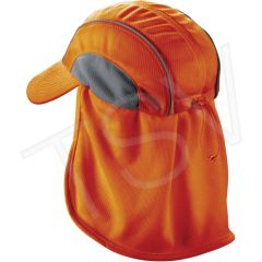 SEC713 Chill-Its® 6650 Cooling Hats Neck Shades Orange ERGODYNE #12521