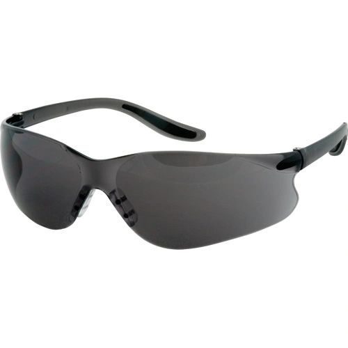 SAS362 SAFETY GLASSESS WRAP-AROUND #Z500 ZENITH SMOKE TINT