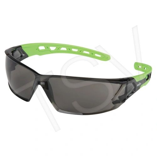 SDN702 Safety Glasses SMOKE/GREY ANTI-SCRATCH LENS UV Flexable Arm CSA Z94.3/ANSI Z87 ZENITH #Z2500