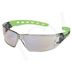 SDN705 Safety Glasses INDOOR/OUTDOOR MIRROR ANTI-SCRATCH LENS UV Flexable Arm CSA Z94.3/ANSI Z87 ZENITH #Z2500