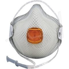 SJ905 N95 Particulate Respirators added Carbon Layer DURA-MESH VENTEX Heat/Flame Resistance NIOSH Style: Cup Exhalation WITH-VALVE MOLDEX Series #2800 10/BOX (SML OR MED/LAR)