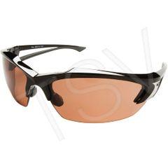 SEG823 Khor Polarized (Lenses block 99.9% of UVA/UVB/ UVC rays) Safety Glasses Lens Tint:COPPER Scratch & Anti-fog MILITARY BALLISTIC GRADE EDGE EYEWEAR #TSDK415