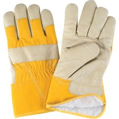 SAP300 Acrylic Boa-Lined Grain Pigskin Fitters Gloves, Large ZENITH (XL-2XL)