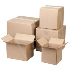 "PA124 Corrugated Cartons 19""Width X 24""Length X 19""Height (Test 200 LBS) LARGE MOVING BOXES"