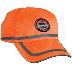 SEC731 GloWear ® Power-Cap Hat Colour: High Visibility Orange Reflective Material: Polyester ERGODYNE #23271