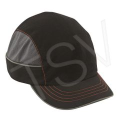 SGF028 Skullerz ® 8950XL Bump Cap State-of-the-Art SHELL INCLUDED Black ERGODYNE #23346 Short Brim
