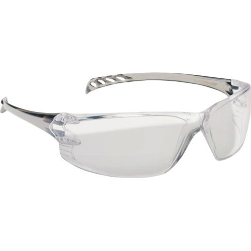 SAQ848 EYEWEAR TRITON CLEAR LENS, TRANSLUSCENT GREY FRAME NORTH #T12005