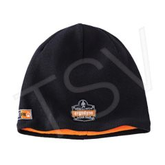 SGH678 N-Ferno 6820 FR Knit Cap Material: Cotton/Modacrylic Colour: Black ERGODYNE #16820