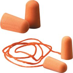 SI762 3M #1100 Foam Ear Plugs NRR dB29 UNCORDED (200)/BX CORDED (100)/BX