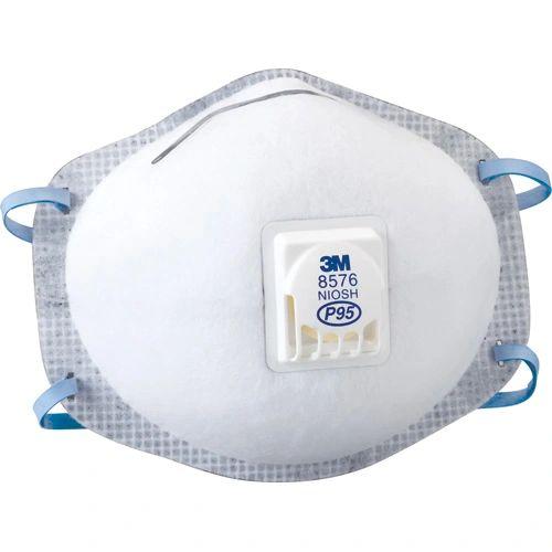 SE265 3M 8576 P95 Particulate Respirators 10/BX
