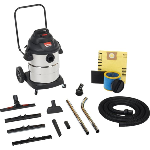 NI730 Powerful Industrial Wet/Dry Vacuums 2.5 & 3 Peak HP 2-Stage Motor SHOP VAC