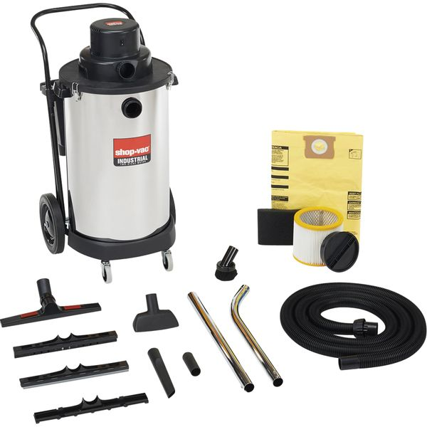 NG377 Powerful Industrial Wet/Dry Vacuums 2.5 & 3 Peak HP 2-Stage Motor SHOP VAC