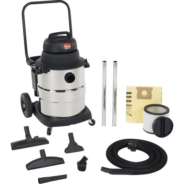 NG333 Lightweight Industrial-Duty Wet/Dry Vacuums 6.5 Peak HP Single Stage Motor SHOP VAC