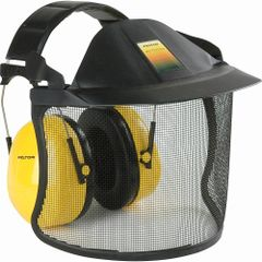 SAM370 Visor System Brush Defender 3M Metal Mesh Faceshield V1A With H9A PELTOR Ear Muff 1 EA/Combo #V40AH9A 3M