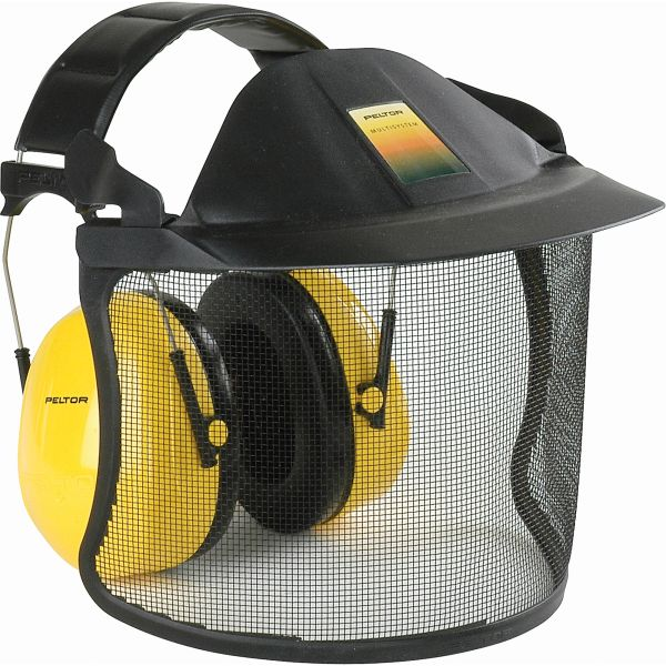 ***DISCONTINUED***SAM370 Visor System Brush Defender 3M Metal Mesh Faceshield V1A With H9A PELTOR Ear Muff 1 EA/Combo #V40AH9A 3M