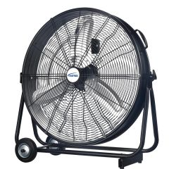 "EA778 Light Industrial Direct-Drive Slim 24"" Drum Fan 3-SPEED MATRIX"