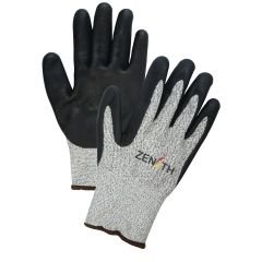 SGF948 HPPE Foam Nitrile Coated Acrylic Lined Gloves 13GA ASTM ANSI Level A4 (SZ SML-2XL) ZENITH