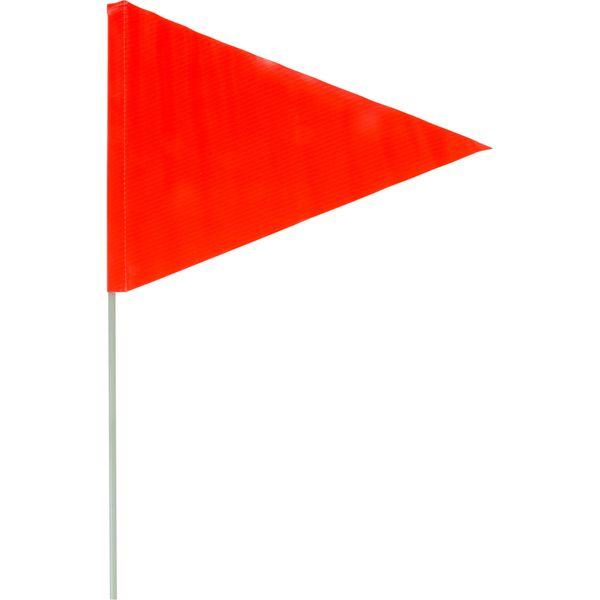 "SGG309 Snow Flag 6' fibreglass pole 9"" x 12"" Triangle POLE Diameter: 1/2"" ZENITH"
