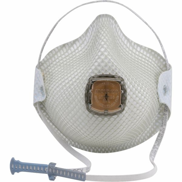 SJ903 N95 Particulate Respirators 2700 WITH VALVE #2701N95 MOLDEX (SMALL OR MED/LAR) 10/BX