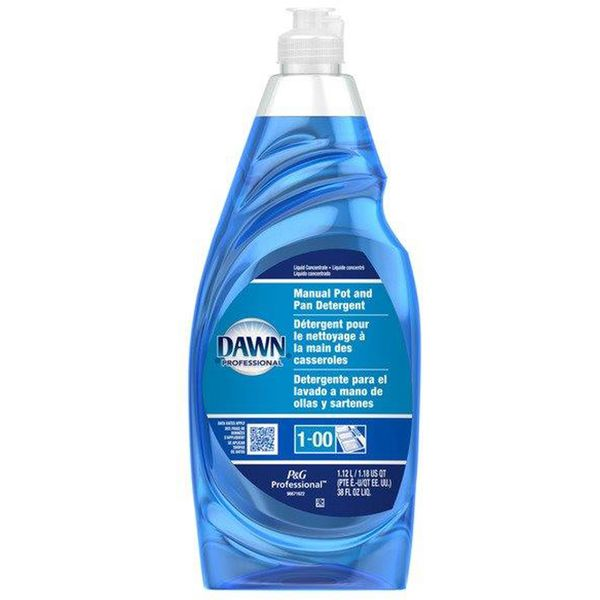 JI508 Dawn Professional Pot & Pan LIQUID Detergent 1.12 L/BOTTLE