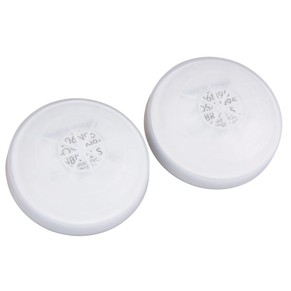 SM907 N95 Filter Assembly (Includes #7506N95 Filter & Covers) #7531N95 NORTH 2/PK (FITS SM890 MASK)