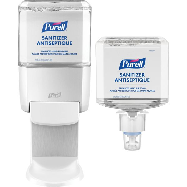 JK567 Advanced Sanitizer Hand Rub Foam Kit 70% ALCOHOL REFILL CARTRIDGE 1200ML PURELL