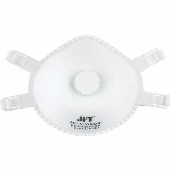 SDN713 Disposable Respirator N100 Particulate Respirator 5/BX MED/LRG ZENITH SAFETY PRODUCTS