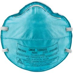 ***TEMPORARILY RESTRICTED FROM ORDERING*** SEH009 3M 1860S N95 Particulate Healthcare NIOSH Respirator SMALL 20/BX