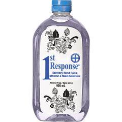 JK877 1st Response® Sanitary Hand Foam SQEEZE Bottle 950ml Unscented #89-90 GRIME EATER