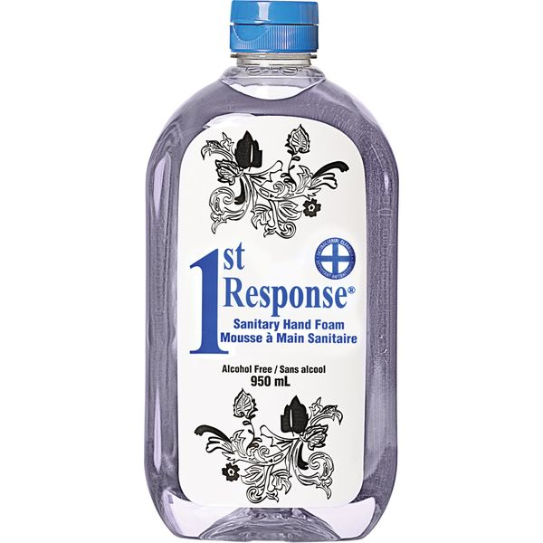 JK877 1st Response® Sanitary Hand Foam SQEEZE Bottle 950ml Unscented #89-90 GRIME EATER