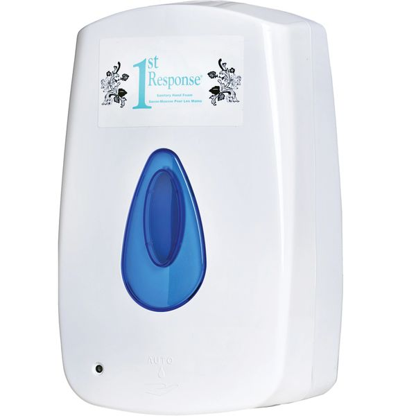 JK881 1st Response® Sanitary Hand Foam Touch-Free Dispenser #8-92 GRIME EATER Requires 4 x C batteries (Fits foam Soaps)
