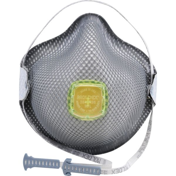 SAG152 R95 Particulate Respirators 2840 Series NIOSH 10/BX MOLDEX (SML - MED/LAR)