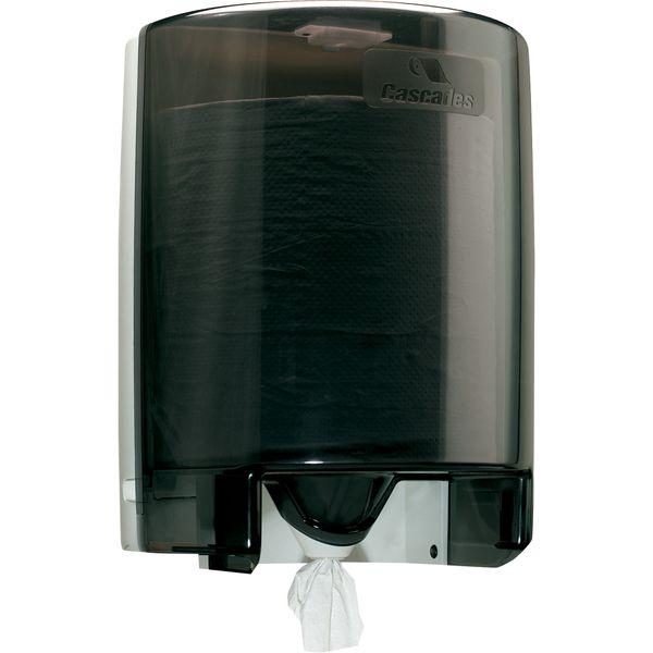 JC034 DISPENSER, TOWEL GREY (fits JC033 Centre Pull Towel) Cascades Pro Select #DH09 Universal