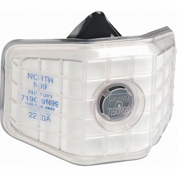 SA847 N99 Low Maintenance Half Mask-Respirator #7190N99 NORTH BY HONEYWELL 12/BX