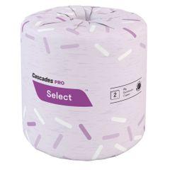 JC018 Toilet Paper 2PLY x 171' x 500SH 100% Recycled Fibres ECOLOGO GREEN SEAL #B180 CASCADES PRO SELECT 48/CS WHITE