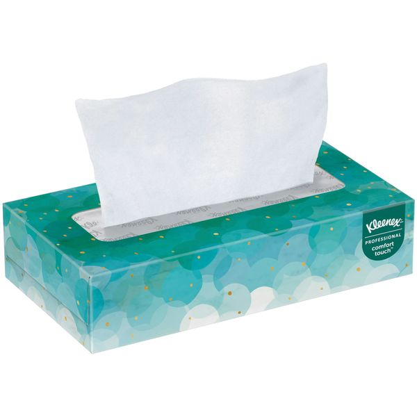 NJJ021 Kleenex® Facial Tissue 2PLY x 100SH #21400 KLEENEX BY KIMBERLY-CLARK WHITE