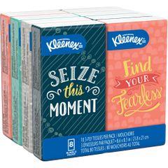 JL019 Kleenex® Facial Tissue 3PLY x 10SH Pocket Pack PREMIUM #46651 KIMBERLY-CLARK 8PK/BDL