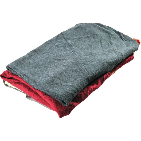 JL234 RAGS, Recycled Material Wiping Mix Colours #SXC-25C-S WIPECO 25LB/BDL