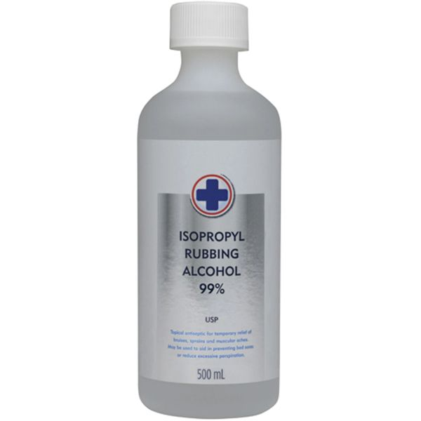SAY425 Isopropyl Rubbing Alcohol Antiseptic 99% 500ML BOTTLE