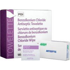 SAY432 Benzalkonium Chloride (BZK) Antiseptic Towelettes #02619 Safecross 12/BX