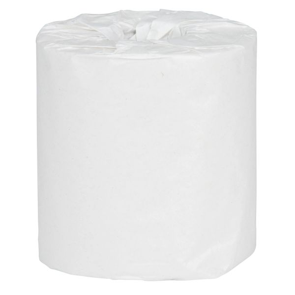 JB885 Toilet Paper, 2PLY Standard Household Rolls 48/CS WHITE