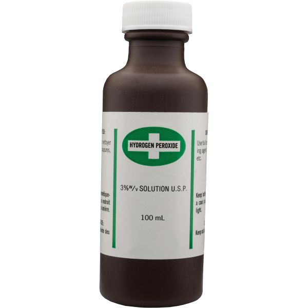 SAY419 Hydrogen Peroxide 3% USP Antiseptic DISINFECTANT 250ML BOTTLE